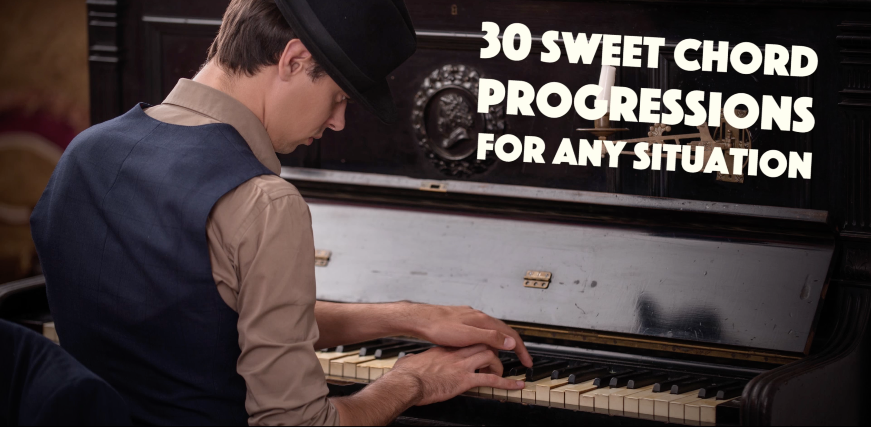 30 sweet chord progressions for piano