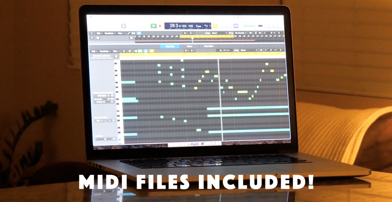 MIDI files included!