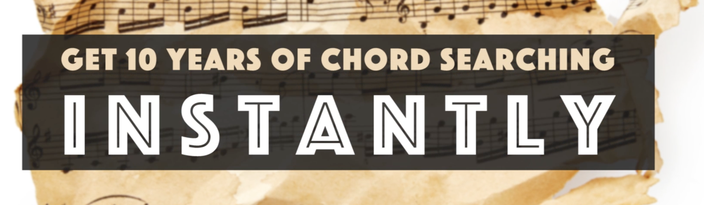 get 10 years chord searching instantly
