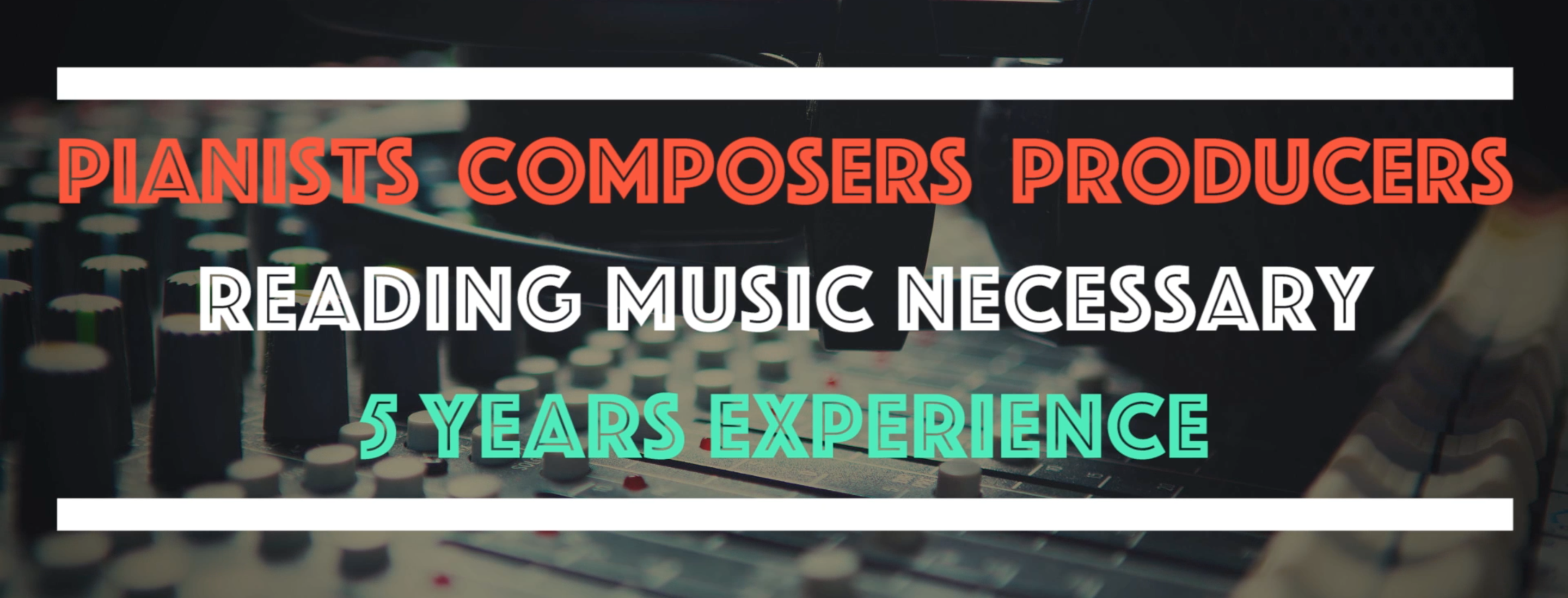 pianists composers music producers